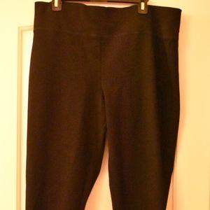 Ladies INC International Concepts Black Pants